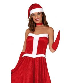 Julekjole til damer.