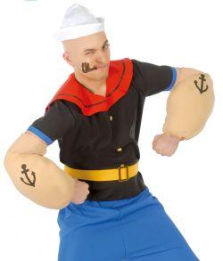 Stærk sømand kostume.