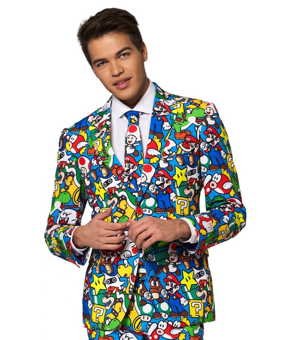 Sjovt Super Mario jakkesæt fra OppoSuits.