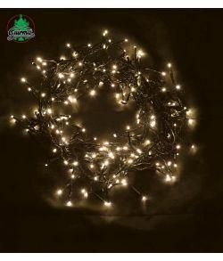 Lyskæde med 240 LED pærer i varm hvid
