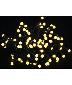 Lyskæde med 100 LED pærer i varm hvid