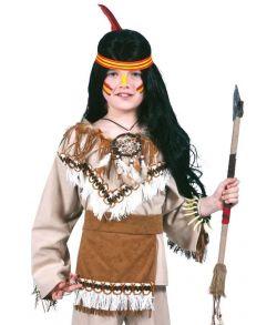 Indianer kostume til børn
