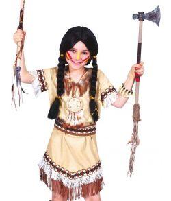 Indianer kostume til piger.
