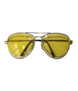 Briller med gule glas
