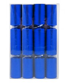 Store nytårs knallerter, blå 21 cm