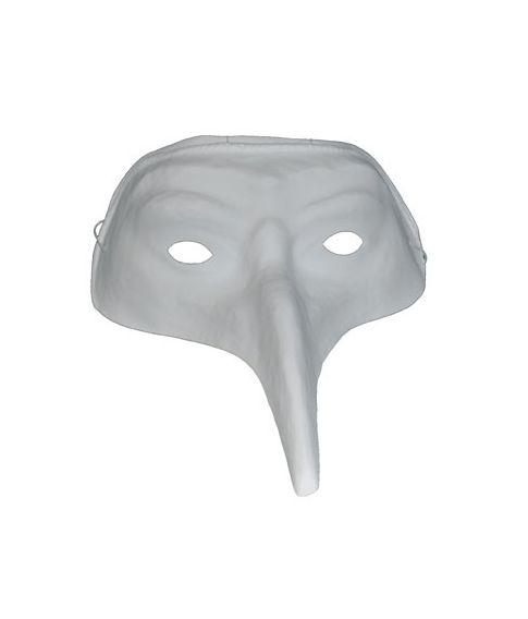 Hvid maske