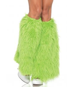 Benvarmere neon grøn