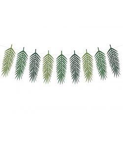 Saml selv guirlande med store palmeblade