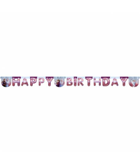 Frozen 2 Happy birthday banner