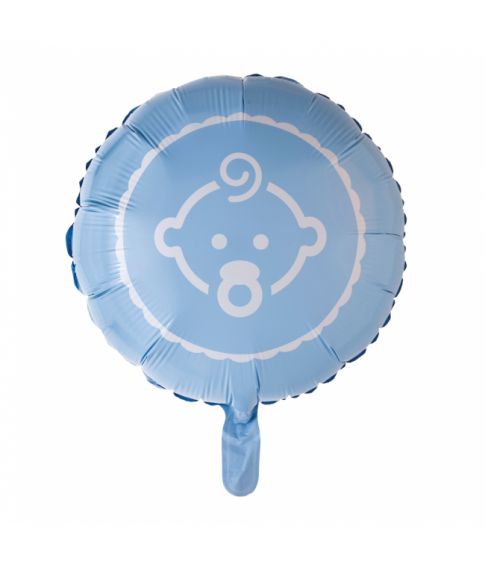 Folieballon Baby Boy blå 46 cm