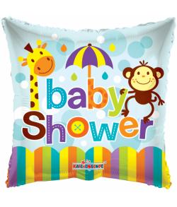 Folieballon Baby Shower.