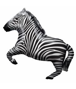 Folieballon Zebra 71 cm