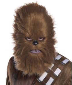 Star Wars Chewbacca maske med pels.