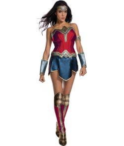 Wonder Woman Justice League kostume.