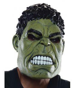 Hulk gummimaske til voksne.