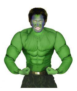 Grøn muskelbluse til voksne.