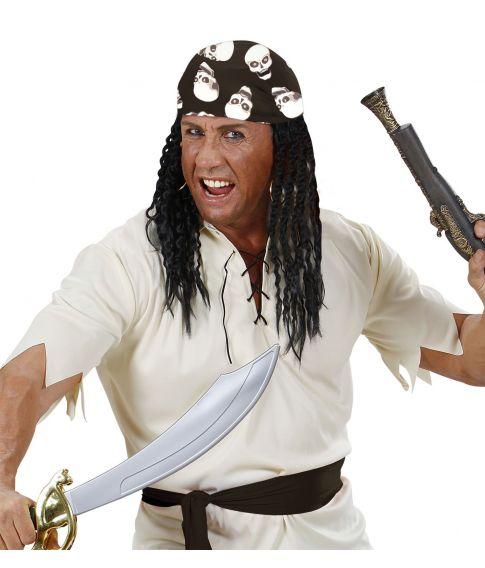 Kranie bandana til pirat udklædningen.