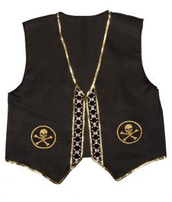 Piratvest til udklædning.