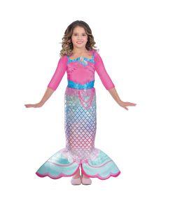 Barbie Regnbue havfrue kostume.