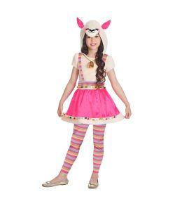 Lama kostume til piger.