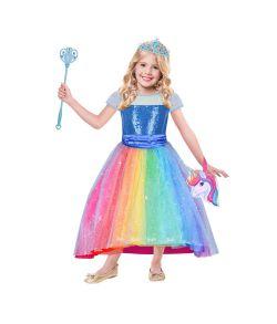 Barbie Rainbow kostume til piger.