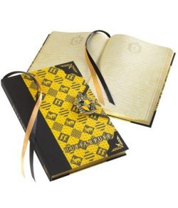 Hufflepuff dagbog fra The Noble Collection.