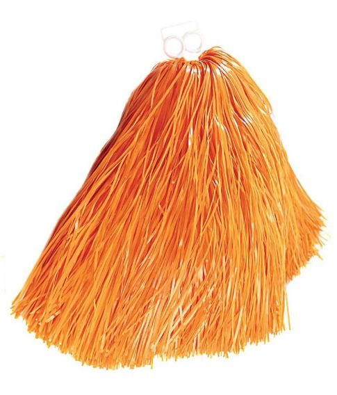 Orange pom pom til Cheerleader kostume.