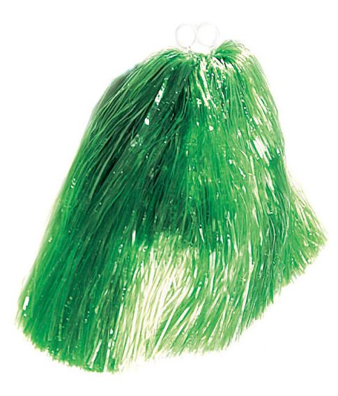 Grøn pom pom.