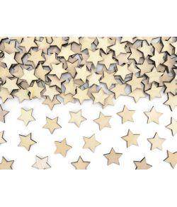 50 stk. små fine stjerner i træ