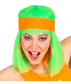 Neonorange hårbånd