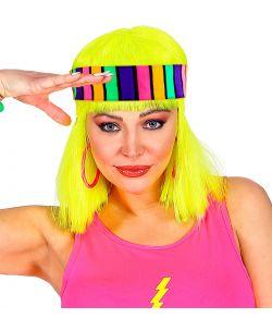 Neonfarvet hårbånd