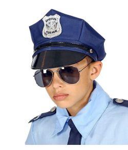 Politi kasket til børne
