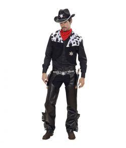 Cowboy kostume til voksne.