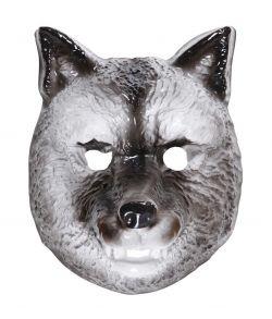 Ulve maske til børn.