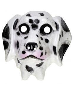 Dalmatiner hundemaske til børn.