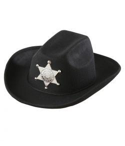 Sherif Cowboyhat til børn.