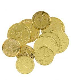 Guldmønter til udklædning.