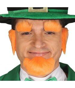 Skæg til Sankt Patrick udklædning.