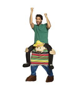Mexicaner piggy back kostume.