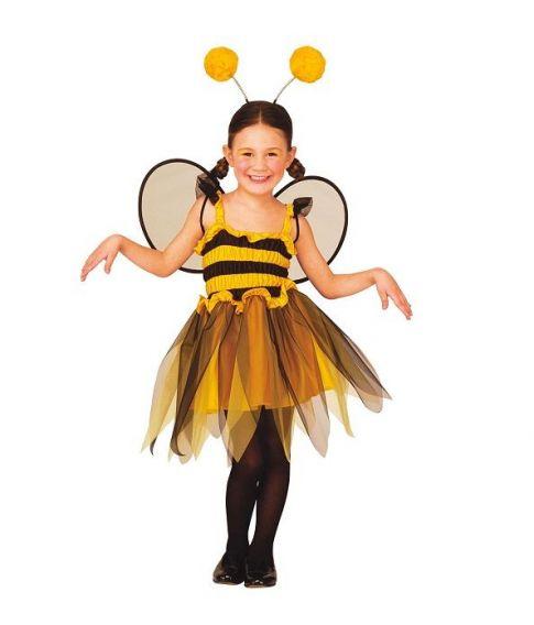 Bi kostume med kjole til piger.