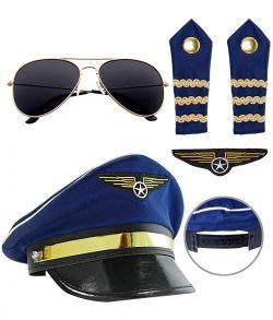 Pilot udklædningssæt.