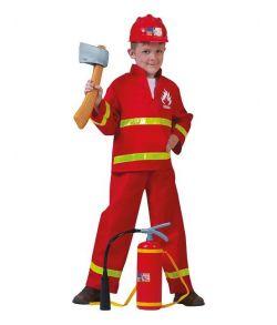 Brandmand kostume til drenge.