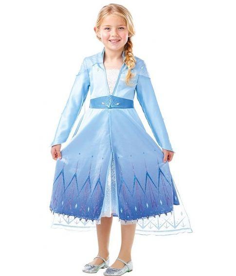 Elsa kjole fra Frost 2 til piger.