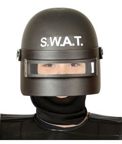 SWAT hjelm til fatelavn, barn.