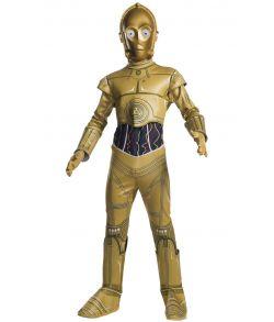 C3PO kostume Star Wars.