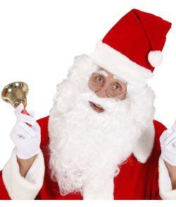 Julemandsskæg og paryk.