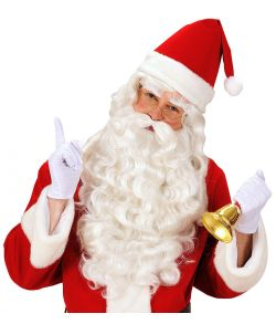 Julemand paryk og skæg