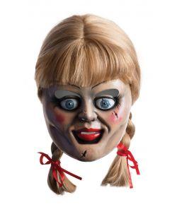 Annabelle maske med paryk.