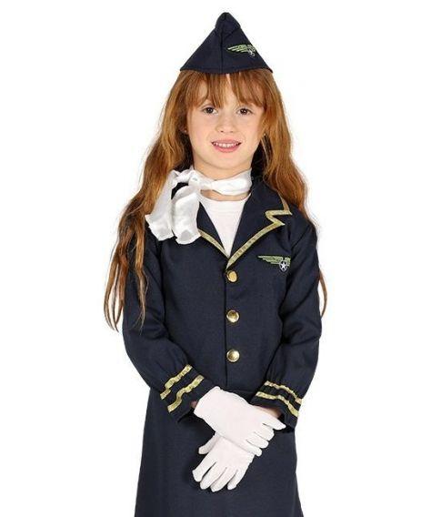 Stewardesse kostume til piger.