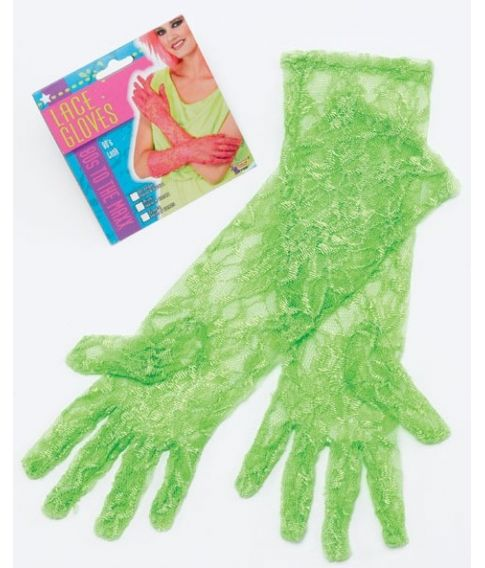 Blondehandsker, grøn